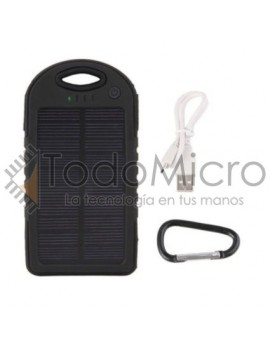 Cargador Solar 5000 MaH