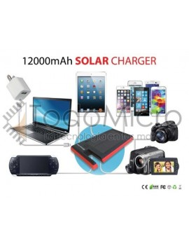 Cargador solar 12000mAH