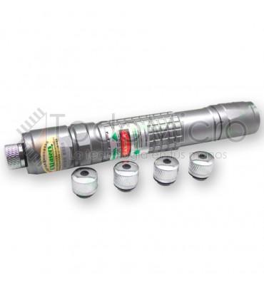Puntero laser azul 1000mw con foco ajustable