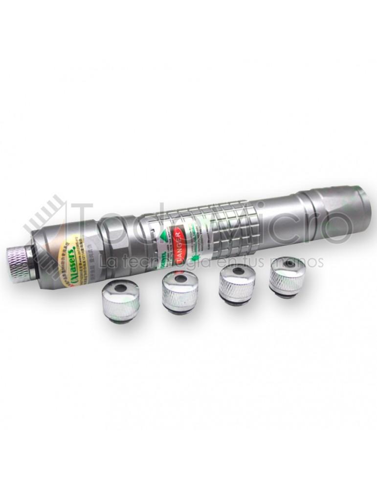 Puntero Laser Verde 50mw. 7km Alcance. Efecto Luminoso. Luz