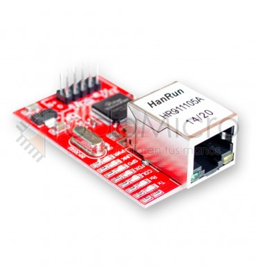 Mini módulo de red LAN Ethernet W5100