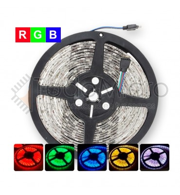 Tira de LEDs 5050 WaterProof 60 led por metro 24V