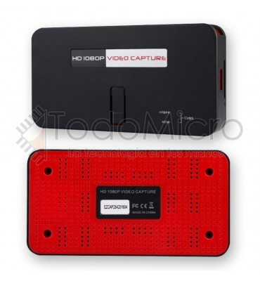 Capturadora de video EZCAP283S Usb 2.0 Hd 1080p av/hdmi/ypbpr