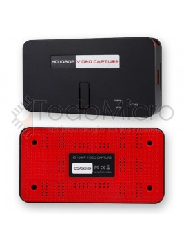 Capturadora de video EZCAP283S Usb 2.0 Hd 1080p av/hdmi/ypbpr