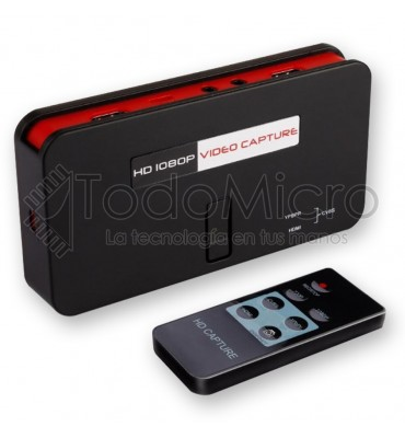 Capturadora de video EZCAP284 HD 1080p av/hdmi/ypbpr Streaming