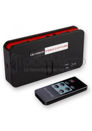 Capturadora de video EZCAP284 HD 1080p av/hdmi/ypbpr Streaming