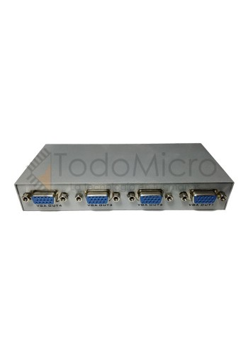 Splitter VGA 4 puertos Activos