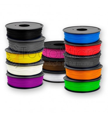 Filamento ABS 1.75mm 1kg 305m para impresora 3D