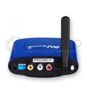 Receptor de audio y video inalambrico