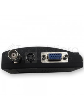 Conversor Bnc A Vga Para Camaras De Seguridad, CCTV