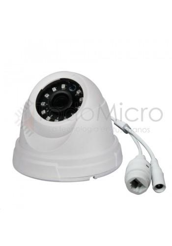Camara IP domo de interior 720p con IR Onvif