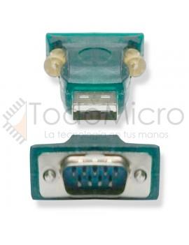Adaptador conversor USB a RS232