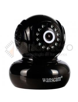 Camara IP domo 360° 720p inalambrica y Tarjeta SD
