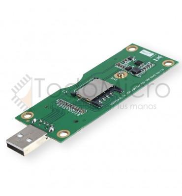 Adaptador WIFI y SIM 3G/4G/LTE a USB