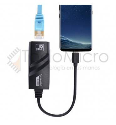 Adaptador USB a Gigabit ethernet 10/100/1000mbps