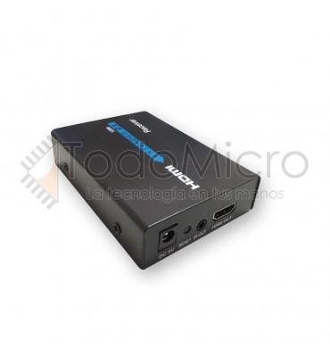 Unidad Extra de Receptor de HDMI por UTP TCP-IP