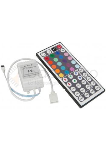 Controlador RGB para leds - Mayor variedad de colores y efectos