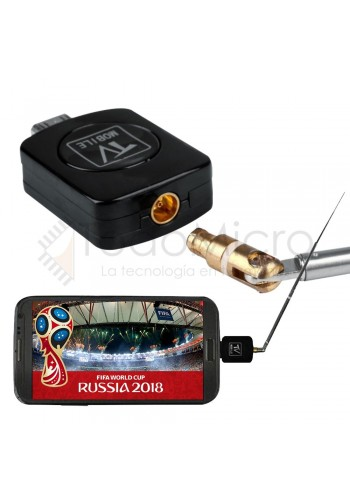 Sintonizador de TV ISDB-T para tablet y smartphone