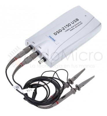 Osciloscopio USB 60Mhz 2 canales