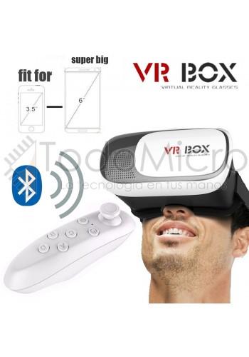 Visor de Realidad Virtual con Joystick Bluetooth