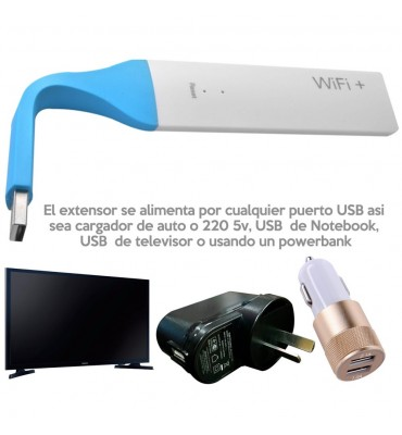 Extensor de rango wifi 300Mbps