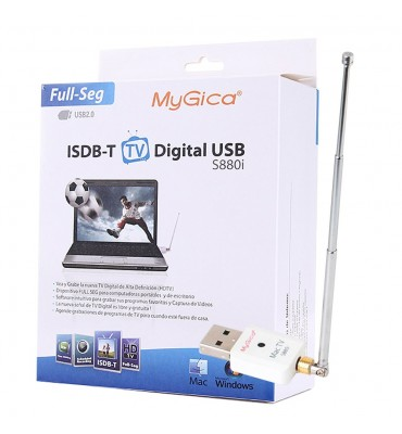 Sintonizadora ISDB-T Full HD Windows y MAC MyGica S880i