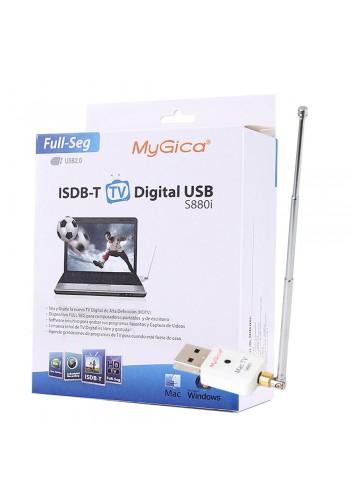 Sintonizadora ISDB-T Full HD Windows y MAC MyGica S880i