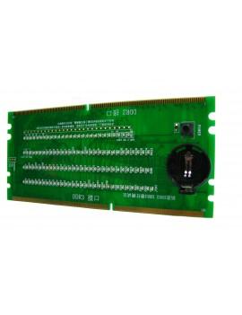 Tester para slot DDR2 y DDR3