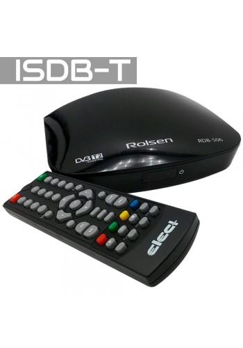 Sintonizadora de TV Digital ISDB-T + DVB-S2