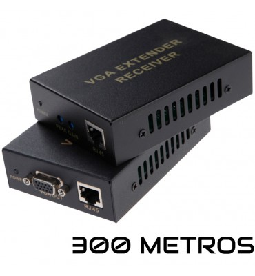 Extensor VGA por UTP activo hasta 300m