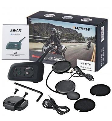 110d73f60d3 ... Bluetooth para Casco de Moto Ejeas V6 1200 Mts. Parlante Micro  Componente; Parlante Micro Componente; Parlante Micro Componente; Parlante  Micro ...