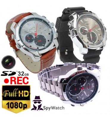 Camara espia tipo reloj pulsera 1080p 30fps 32gb incluidos