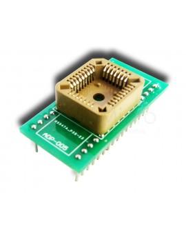 Adaptador para willem PLCC32 a DIP32