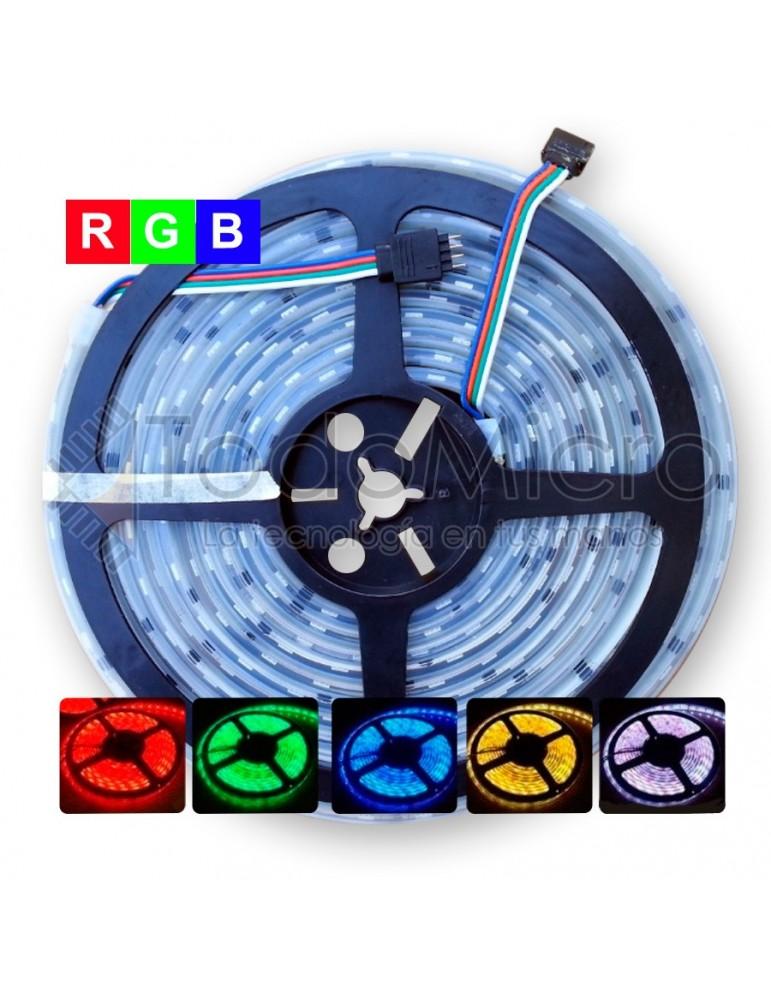 Combo: 5Mts de led RGB + Fuente + Controlador