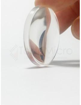 lente biconvexo 37mm