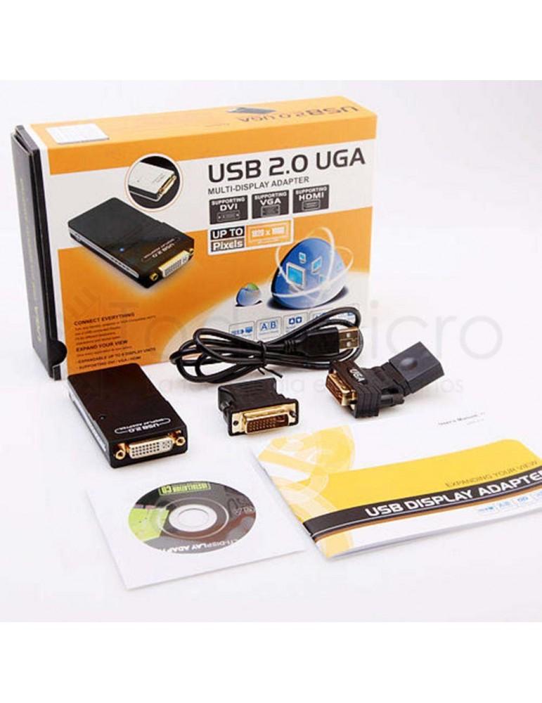 Conversor USB 2.0 a DVI