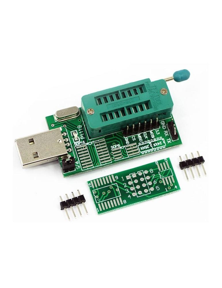 Programador de memorias 24XX y 25XX