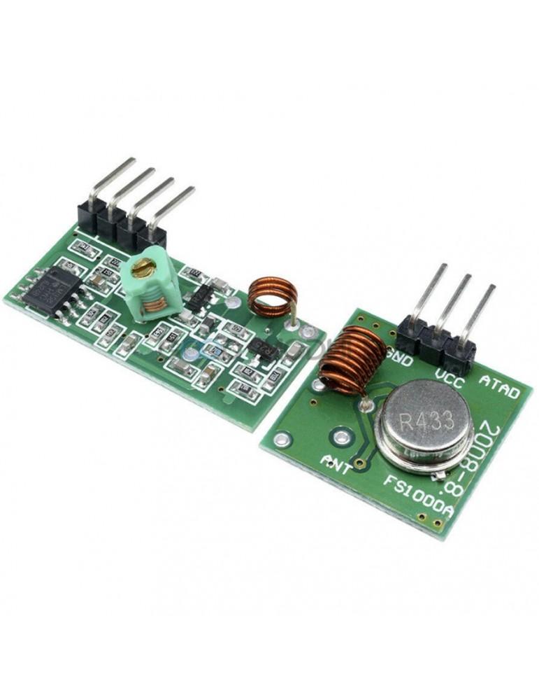 Modulo Rf Transmisor Y Receptor 433 Mhz Arduino