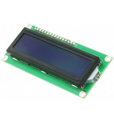 Display LCD 16X2 azul