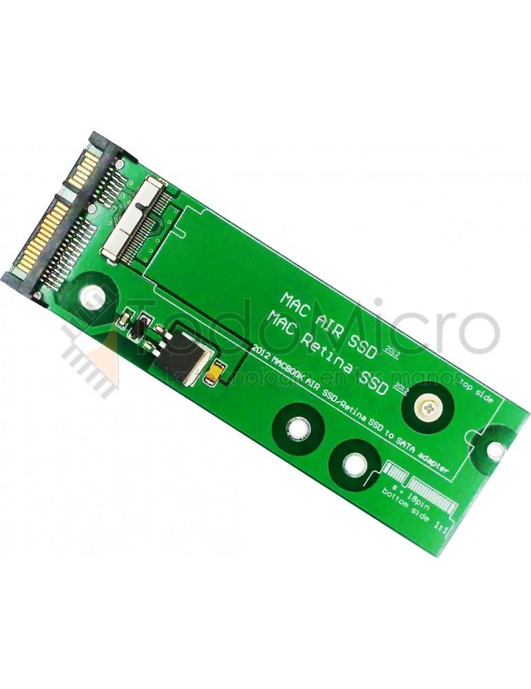 Adaptador SSD MAC PRO / MAC AIR 2012 a SATA