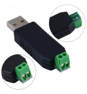Adaptador Conversor Usb A RS485 Domos Ptz Plc