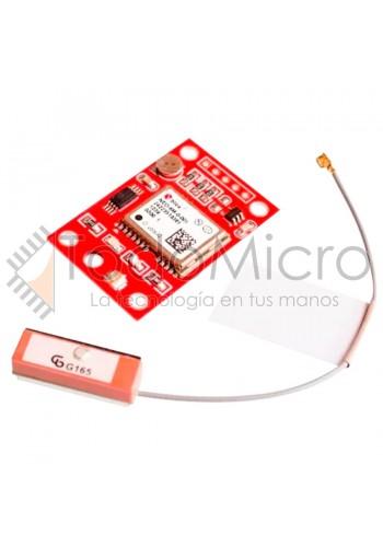 Modulo Gps Gy-neo6mv2 Con Antena