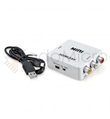 Conversor de video HDMI a RCA.
