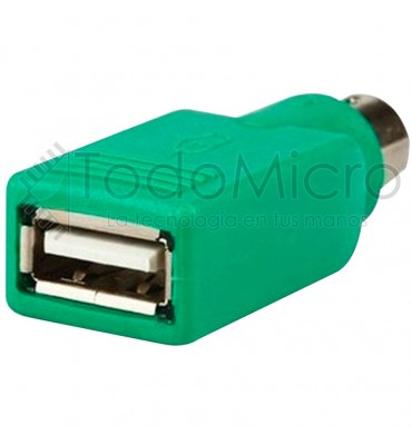 Adaptador PS2 Macho a USB Hembra