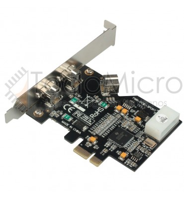 Placa Pci-e X1 A Firewire 1394b Pci Express A 3 Firewire 800