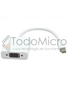 Conversor Mini DisplayPort a VGA