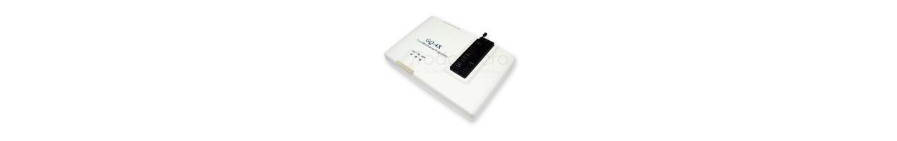 Programadores de microcontroladores y memorias
